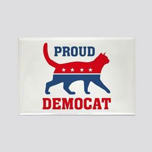 Proud Democat Rectangle Magnet