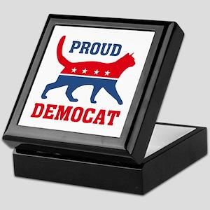 Proud Democat Keepsake Box