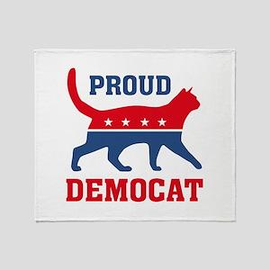Proud Democat Stadium Blanket