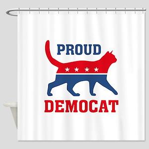 Proud Democat Shower Curtain