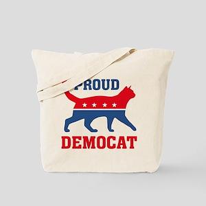 Proud Democat Tote Bag
