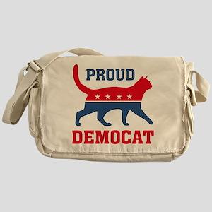 Proud Democat Messenger Bag