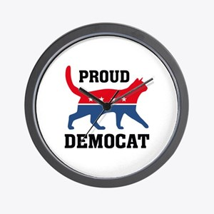Proud Democat Wall Clock