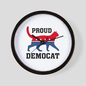 Proud Democat Wall Clock