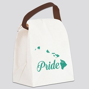 Hawaii Pride Canvas Lunch Bag