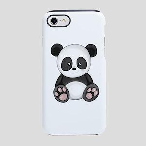 Cute Panda iPhone 8/7 Tough Case