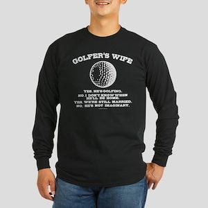 Golfer's Wife Long Sleeve T-Shirt