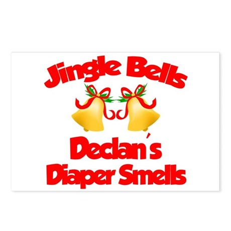 Declan - Jingle Bells Postcards (Package of 8)