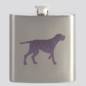 Redbone Coonhound Flask