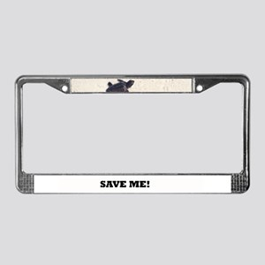 Baby Sea Turtle License Plate Frame