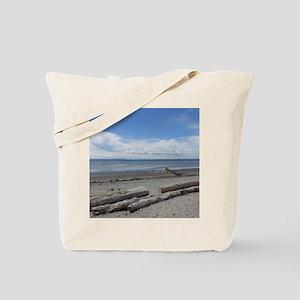 Crescent beach in White Rock, BC, Canada Tote Bag