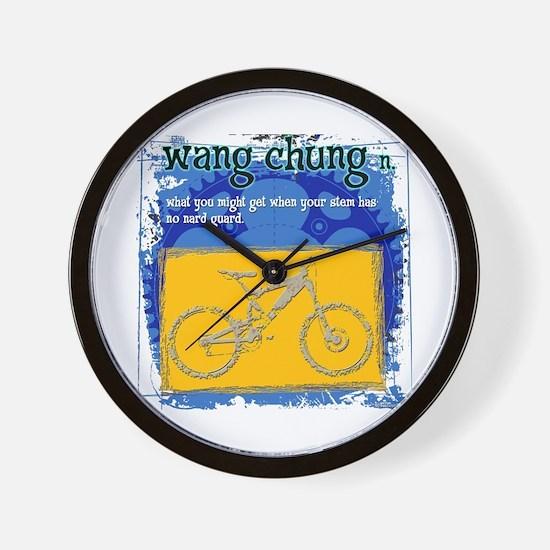 Wang Chung Wall Clock