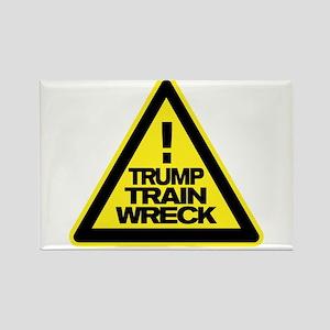 Trump Train Wreck Magnets