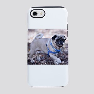 Pug Posing iPhone 8/7 Tough Case