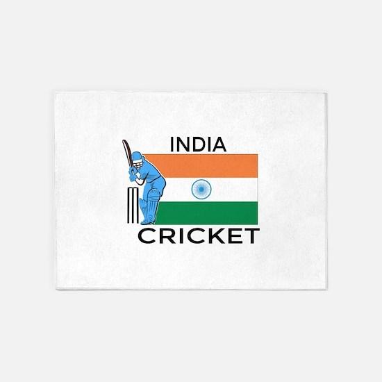 India Cricket 5'x7'Area Rug