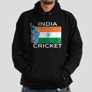India Cricket Hoodie (dark)