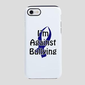 Anti-Bullying Blue Ribbon iPhone 8/7 Tough Case