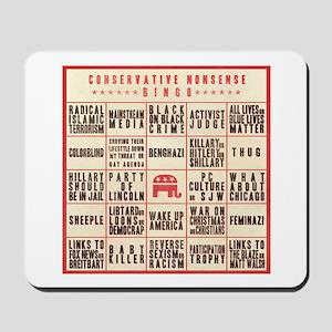 Conservative Bingo Mousepad