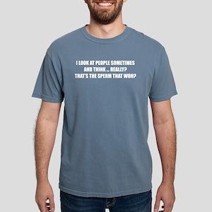Sperm That Won Women's Dark T-Shirt