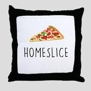 Homeslice Throw Pillow