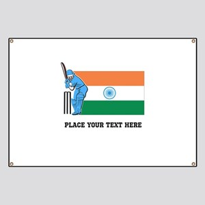 Personalize India Cricket Banner
