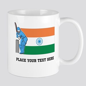 Personalize India Cricket Mug