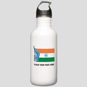 Personalize India Cric Stainless Water Bottle 1.0L