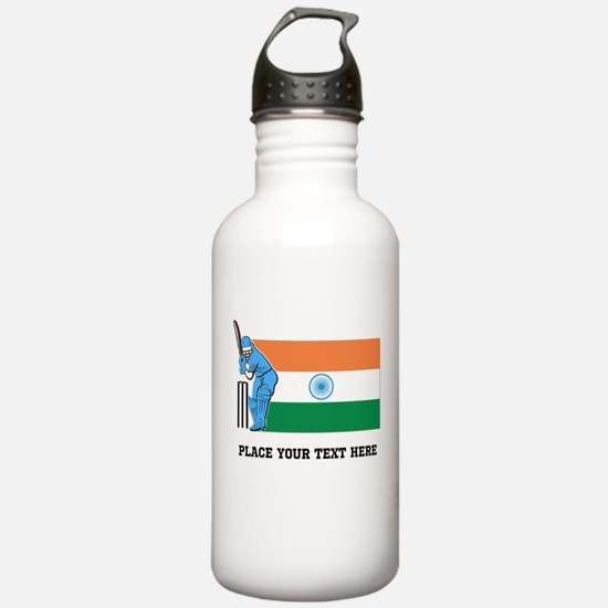 Personalize India Cric Water Bottle