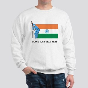 Personalize India Cricket Sweatshirt