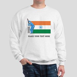 Personalize India Cricket Sweatshirt