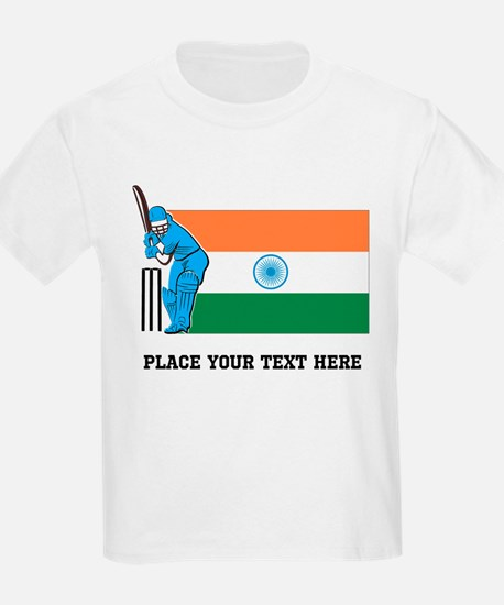 Personalize India Cricket T-Shirt