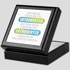 Introverted - Extroverted Keepsake Box