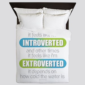 Introverted - Extroverted Queen Duvet