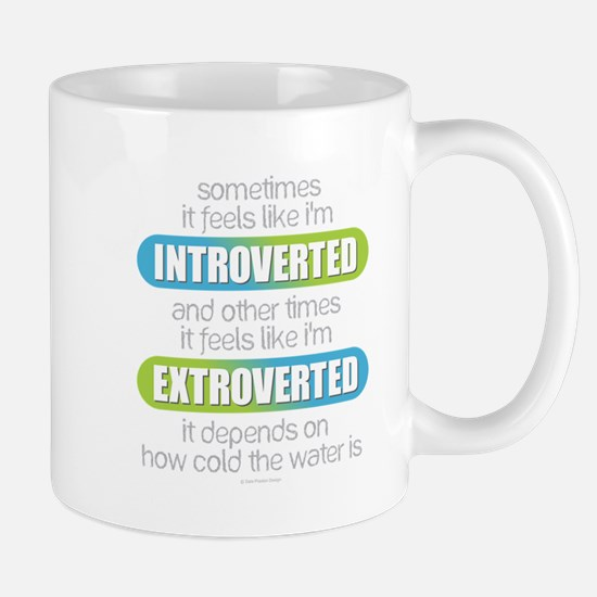 Introverted - Extroverted Mugs