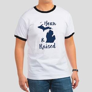 Michigan - Born & Raised Ringer T