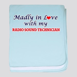 Madly in love with my Radio Sound Tec baby blanket