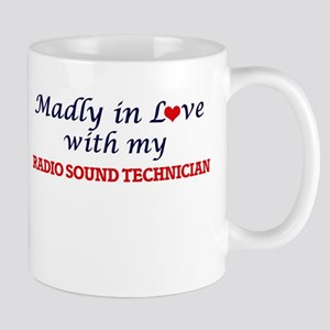 Madly in love with my Radio Sound Technician Mugs
