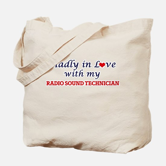 Madly in love with my Radio Sound Technic Tote Bag