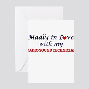 Madly in love with my Radio Sound T Greeting Cards