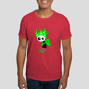 Green Gothic Xmas Fairy Dark T-Shirt