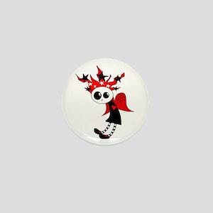 Gothic Xmas Fairy Mini Button