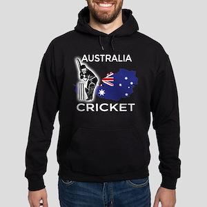 Australia Cricket Hoodie (dark)