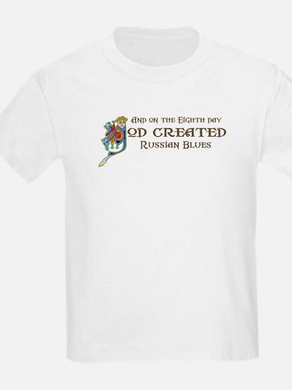 God Created Blues T-Shirt