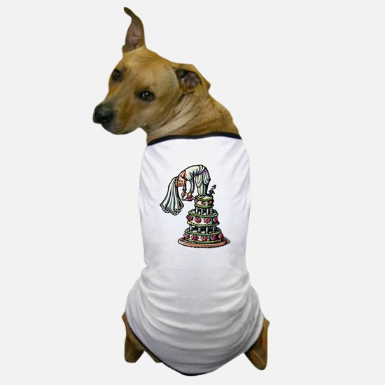 Cute Layered wedding Dog T-Shirt