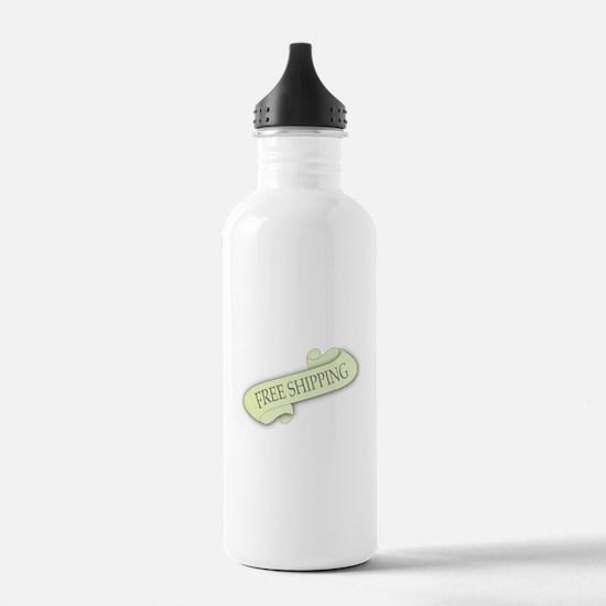 Free Shipping Scroll Water Bottle