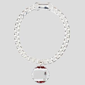 Venue Copy Space Charm Bracelet, One Charm