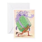 Gift-Bearing Imp Greeting Cards (Pk of 20)
