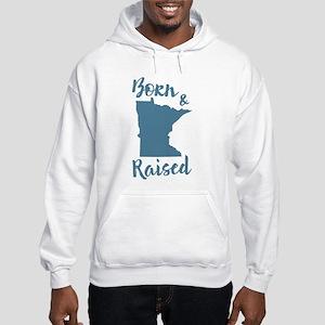 Minnesota - Born & Raised Hooded Sweatshirt