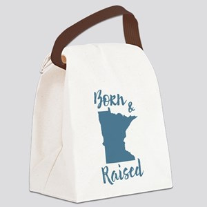 Minnesota - Born & Raised Canvas Lunch Bag