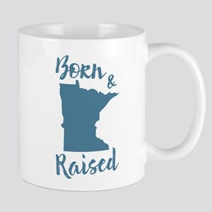 Minnesota - Born & Raised Mug